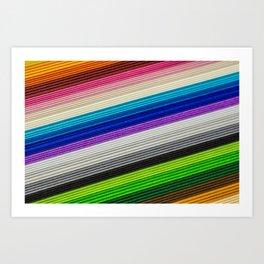 spectrum color schemes Art Print