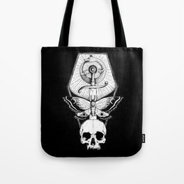 Wolf Ouroboros Sword Tote Bag