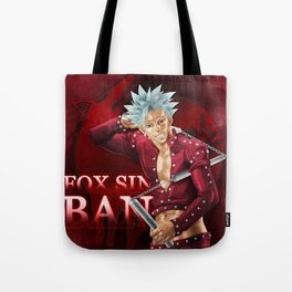 Fox Sin Tote Bag