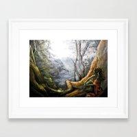 elf Framed Art Prints featuring Elf by Cassie's Wonderland