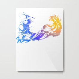 Final Fantasy X Metal Print