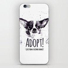 Adopt iPhone & iPod Skin