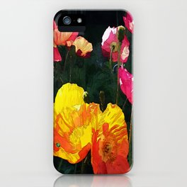 Poppies Four iPhone Case