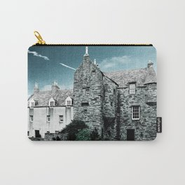 Fordyce Scotland Wee House Blue Vintage Carry-All Pouch