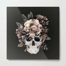 Sugar Skull (Winter) Metal Print
