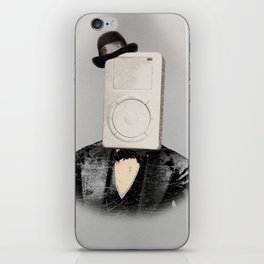 Faces of the Past: Mp3 Player iPhone Skin