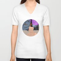 marianna V-neck T-shirts featuring A dream for a lifetime · Marianna by Marko Köppe