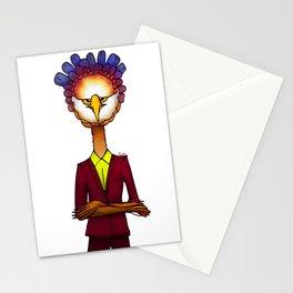 Grumpie Owl / Moody Stationery Cards