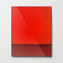 Red #1 Metal Print