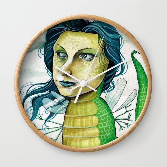 LOVELY CREATURE Wall Clock