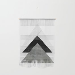 Arrows Monochrome Collage Wall Hanging