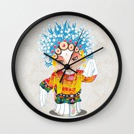 Beijing Opera Character SunShangXiang Wall Clock