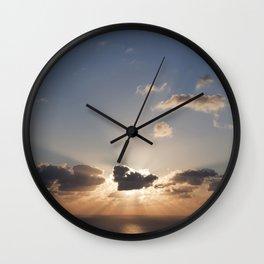 A Sunrise Wall Clock