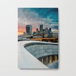 City of fire - London Metal Print