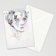 love and sacrifice Stationery Cards