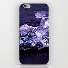 ice wave breaker iPhone & iPod Skin