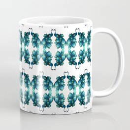 Blue Peacocks Coffee Mug