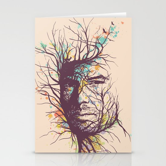 Natural Existence Stationery Cards