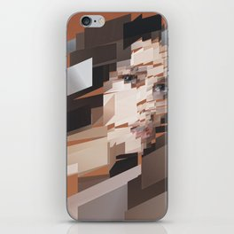 My Girl is Anarchy-tect iPhone Skin