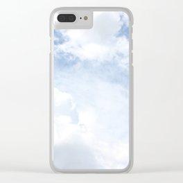 Just Clouds Clear iPhone Case