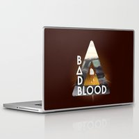 bastille Laptop & iPad Skins featuring Bastille #3 by Thafrayer