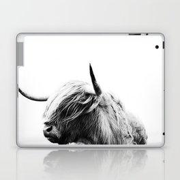 Highland Cow Art Laptop & iPad Skin