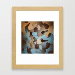 Camo 01 Framed Art Print