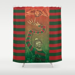 One, Two, Freddy's Coming For You Shower Curtain