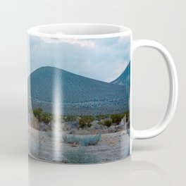 Blue Desert Landscape Coffee Mug
