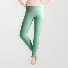 Soft Seafoam Green Hues - Color Therapy Leggings