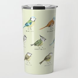 The Tit Family Travel Mug