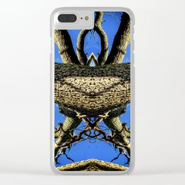 Midnight Tree Stretch Clear iPhone Case