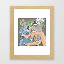 Surly Bonds Framed Art Print