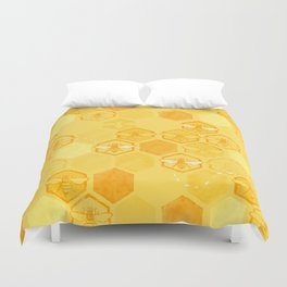 Dance of Bees Duvet Cover