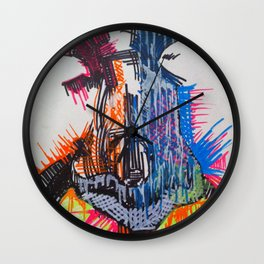 The Nose Knows Wall Clock