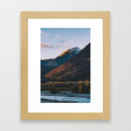 Fire on the Mountain II Framed Art Print