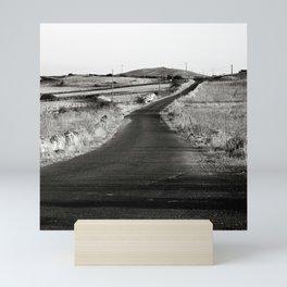 Abandoned Country Road of Sardinia in Italy Mini Art Print