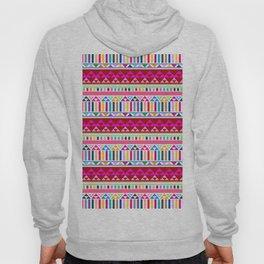 Mountain Stripe Kilim in Rainbow Multi Hoody