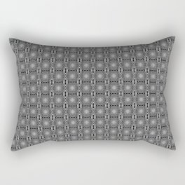 Zebra Illusions Pattern Rectangular Pillow