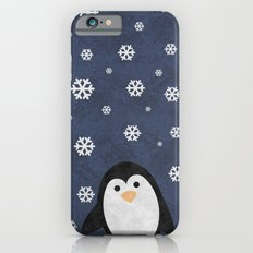 Christmas Penguin Marble Slim Case iPhone 6s