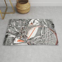 Basketball Artwork Backstreet Rug