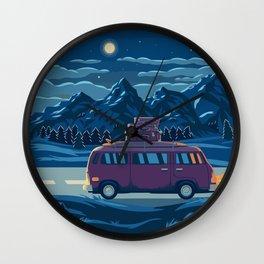 Midnight Journey Wall Clock