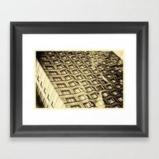 Hornet Vertigo Framed Art Print