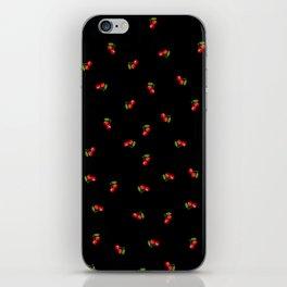 Dark Delicate Cherry iPhone Skin