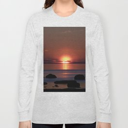 Shock-wave Sunset Long Sleeve T-shirt