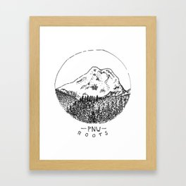 Pacific Northwest Roots Framed Art Print
