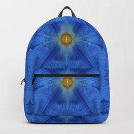 Divine Diamond Morning Glory Blues Backpack