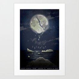 """Coldplay """"Magic"""" conceptual poster Art Print"""