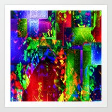 Magma by Tim Henderson Art Print