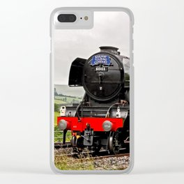60103 Flying Scotsman Clear iPhone Case